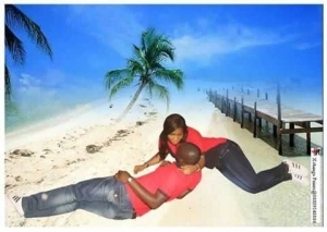Haters will say these pre-wedding photos are photoshop...